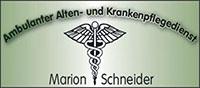 Ambulanter Pflegedienst Marion Schneider
